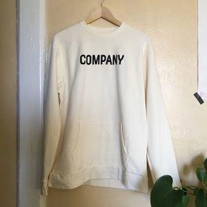 Sweatshirt 'company' w pockets